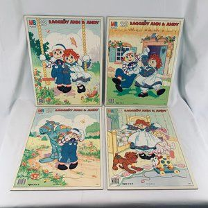 1987 Raggedy Ann And Andy Puzzles
